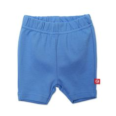 Zutano Baby-girls Infant Primary Solid Bike Shorts, Periwinkle, 18 Months