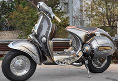 MOTORCYCLE 74: Steampunk Vespa by Pulsar Projects