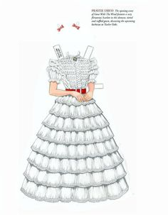 Gone With The Wind paper doll outfit  :)