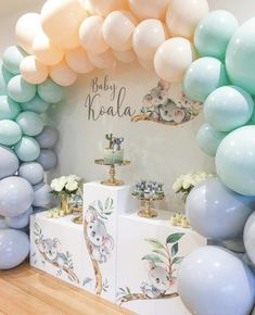 Shower Party, Baby Shower Parties, Baby Shower Themes, Baby Shower Decorations Neutral, Shower Ideas, Classy Baby Shower, Gender Neutral Baby Shower, Baby Birthday, Birthday Party Themes