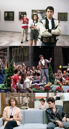 Ferris Bueller's Day Off 80s Movies, Great Movies, Film Movie, Farris Buellers Day Off, Movies Showing, Movies And Tv Shows, Ferris Bueller, Twist And Shout, About Time Movie