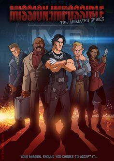 The Animated series...Mission Impossible by DazTibbles on deviantART