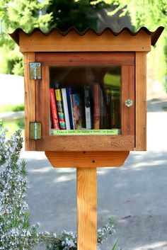 Little Free Library in the Neighborhood #littlefreelibrary #neighborhoodlibrary #bookexchange