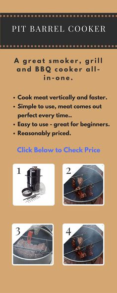 The Pit Barrel Cooker is a grill, smoker and BBQ all-in-one. Outstanding reviews. Click to check price. Outdoor Grilling, Outdoor Cooking, Ugly Drum Smoker, Pit Barrel Cooker, Dutch Oven Camping, Smoke Grill, Smokers, Bbq Grill, Grills