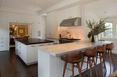 Contemporary Kitchen by Laura Martin Bovard