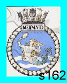 s162 Mermaid Fabric Nautical Vintage Mermaid Seal Cotton Fabric Block Applique for Quilt 5 x 7/// love mermaids this is fot idea only