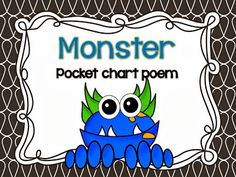 Mrs Jump's class: Monster Poem FREEBIE!