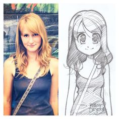 SaintMappy Sketch by Banzchan American artist Rober DeJesus turns stranger's photos into anime versions of themselves