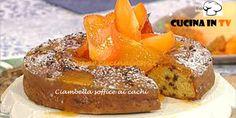Ciambella soffice ai cachi ricetta Barzetti La Prova del Cuoco   Cucina in tv