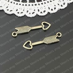 (25394)27*5MM Love Arrow 50PCS,alloy,Antique Bronze Color,diy Jewelry Accessories,Bracelet Findings,Alloy beads,Connector charms-in Charms from Jewelry on Aliexpress.com $5.07