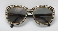 Cartier Paris 18kt Gold sunglasses with 188 diamonds in excess of 7.5 carats...one of a kind circa 1980's.