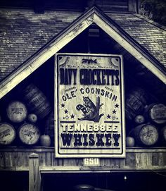 Title  Davy Crocketts Tennessee Whiskey   Artist  Dan Sproul   Medium  Photograph - Digital