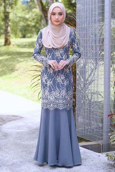 Dress Brokat Muslim, Dress Brokat Modern, Kebaya Modern Dress, Kebaya Muslim, Muslim Dress, Model Kebaya Brokat Modern, Kebaya Hijab, Kebaya Dress, Dress Pesta