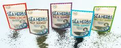 Pembrokeshire Beach food company Kick start a healthy 2017 with our brand new Sea Herbs range!