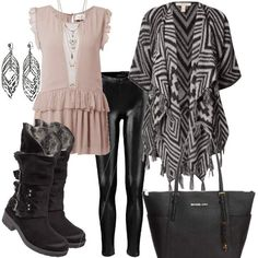 Cool Way | Stylaholic #fashion #style #outfit #look #dress #mode #sexy #trend #luxury