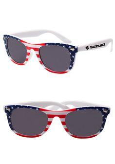747e3f395491 American Flag Aviator Style Sunglasses with Flag Lenses