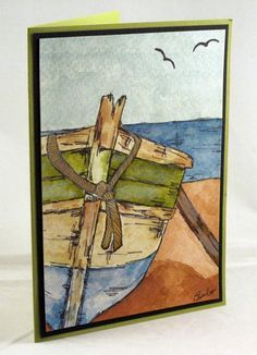 water color sail boats - Google Search