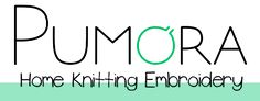 Pumora | Contemporary knitting and embroidery design
