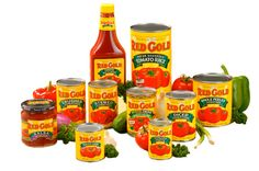 Red Gold Tomato products are grown in Indiana and they have a wonderful outlet store in Elwood, IN.