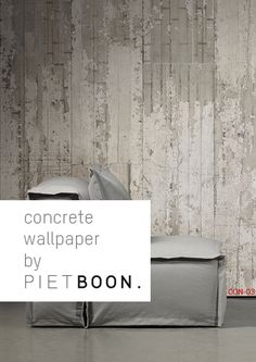 Concrete Wallpaper By Piet Boon Iu0027d Save Myself Some Money Send A Free  Hires Image Of These Sorts Of Backgrounds To A Good Sheet Fed Printer.