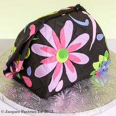 Quilted Purse Cake