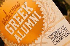 UW Oshkosh's 'All Greek Reunion' Celebration