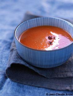 Soupe de poivrons rouges pour 4 personnes - Recettes Elle à Table