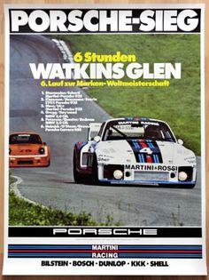 ORGINAL-PORSCHE-MANIFESTO-POSTER-Renn-Weltmeister-1976-MARTINI-PORSCHE-935-vittoria