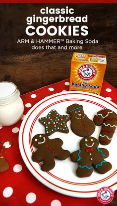 Here's a festive recipe to kick off the holidays right! Step Preheat your oven to Then sift together 1 tsp. ginger and 1 cup f(Baking Cookies And Shit) Galletas Cookies, Holiday Cookies, Holiday Treats, Sugar Cookies, Cookies Et Biscuits, Holiday Recipes, Baking Cookies, Christmas Sweets, Holiday Baking
