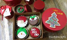 Cupcake Natal - Mimos para o Natal