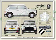 Classic Car News Pics And Videos From Around The World Mini Cooper Classic, Classic Mini, Classic Cars, Mary Quant, Mini Morris, Mini Copper, Classic Portraits, Mini Clubman, Classic Mercedes