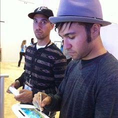 "Pete Wentz (Fall Out Boy, @petewentz): ""The wentz super Mario bros at E3."""