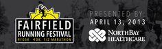Proceed to benefit the Matt Garcia Youth Center! Fairfield Running Festival  Run for Good 5K, +10K +1/2 Marathon  April 13th