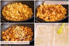 Strudel de manzana fácil. Receta tradicional alemana | Cocinar en casa es facilisimo.com