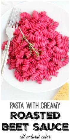 Pasta with Creamy Ro