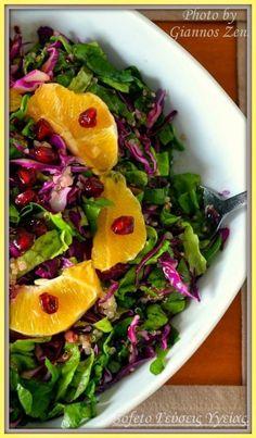 σαλάτα με κινοα Kinds Of Salad, Salad Dressing, Salads, Mexican, Health, Ethnic Recipes, Food, Dressings, Health Care