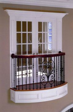 French Doors For Bedroom Balcony Juliette Balcony, Balcon Juliette, Balcony Railing Design, Window Grill Design, Indoor Balcony, Iron Balcony, Interior Balcony, Bedroom Balcony, Prehung Interior French Doors