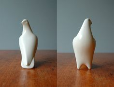 Mid Century Modern Porcelain Bird Sculpture by luola on Etsy. no longer available.