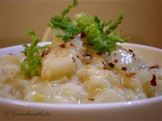 Fenchel-Risotto #vegan #food