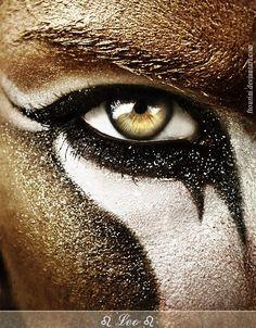 ♥Leo lion makeup