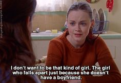 gilmore girls- that kind of girl