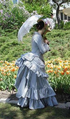 1800s Fashion, 19th Century Fashion, Edwardian Fashion, Vintage Fashion, Steampunk Clothing, Steampunk Fashion, Gothic Fashion, Emo Fashion, Vintage Gowns