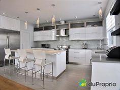 Vous aimez les cuisines modernes? Maison a vendre St-Bruno-De-Montarville, 3665, rue Tamaris, immobilier Québec | DuProprio