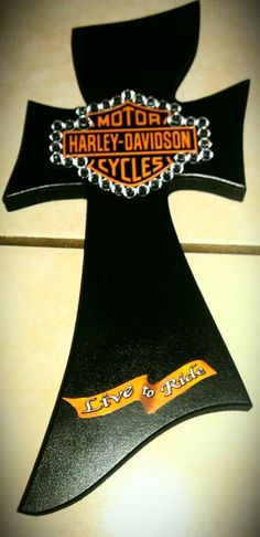 Harley-Davidson cross.... I am very happy with how this one turned out.