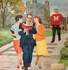 «Picking Poindexter», Dick Sargent (1911–1978)