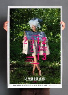 Les produits de lépicerie / design graphique / La rose des vents . Saison 2012-2013