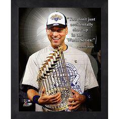 New York Yankees Derek Jeter 12x15 Framed Photo - MLB.com Shop