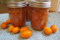 Vanilla Ginger Candied Kumquats