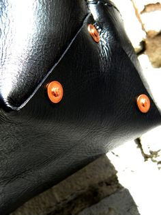 Fortenberry duo-tone shopper in black/natural tan - hand-peened copper rivets yourfortenberry.com | Bench-crafted leather carry goods in Ybor City  #stool #tote #belt #wallet #slimwallet #fortenberry #yourfortenberry #leather #bison #leathercraft #leatherwork #handmade #handcrafted #benchcrafted #lasercut #laserengraved #saddlestitch #madeinYborCity #madeinTampa #madeinUSA #Tampa #retail #wholesale #popupshop