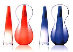 Issey Miyaki Lee Eeu D'Issey Triblob bottle designed by Karim Rashid for Issey Miyaki